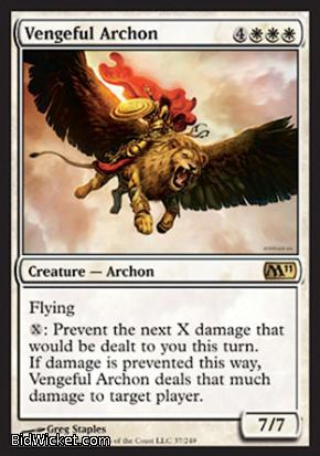Vengeful Archon, Magic 2011 Core Set, Magic the Gathering