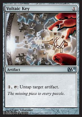 Voltaic Key, Magic 2011 Core Set, Magic the Gathering
