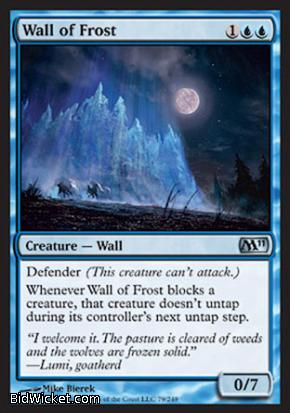 Wall of Frost, Magic 2011 Core Set, Magic the Gathering
