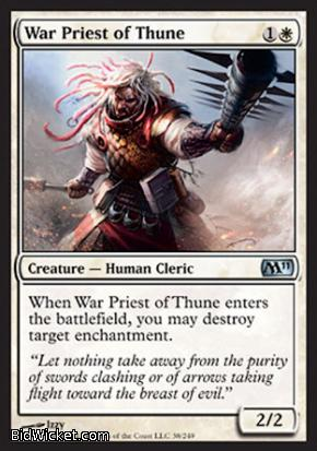 War Priest of Thune, Magic 2011 Core Set, Magic the Gathering