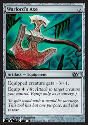 Warlord's Axe, Magic 2011 Core Set, Magic the Gathering