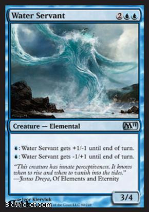 Water Servant, Magic 2011 Core Set, Magic the Gathering