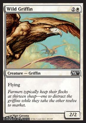 Wild Griffin, Magic 2011 Core Set, Magic the Gathering