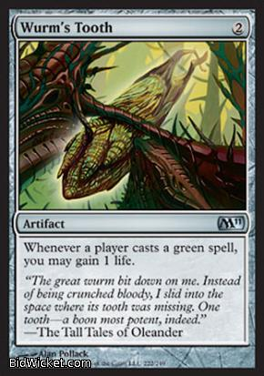 Wurm's Tooth, Magic 2011 Core Set, Magic the Gathering