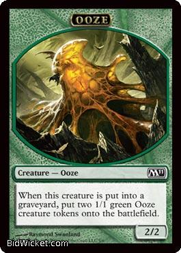 Ooze 2/2 (Token), Magic 2011 Core Set, Magic the Gathering
