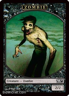 Zombie (Token), Magic 2011 Core Set, Magic the Gathering