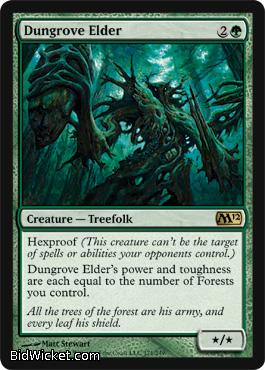 Dungrove Elder, Magic 2012 Core Set, Magic the Gathering