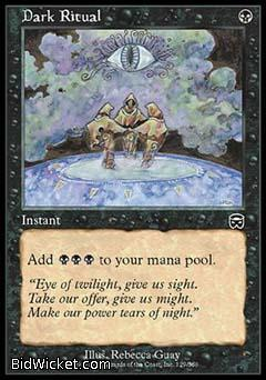 Dark Ritual, Mercadian Masques, Magic the Gathering