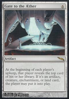 Gate to the Aether, Mirrodin, Magic the Gathering