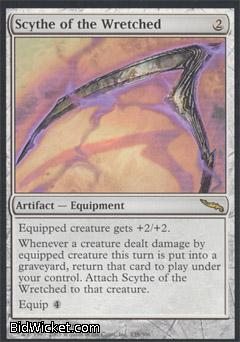 Scythe of the Wretched, Mirrodin, Magic the Gathering