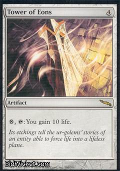 Tower of Eons, Mirrodin, Magic the Gathering