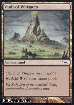 Vault of Whispers, Mirrodin, Magic the Gathering