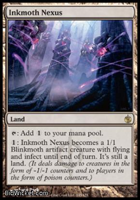 Inkmoth Nexus, Mirrodin Besieged, Magic the Gathering