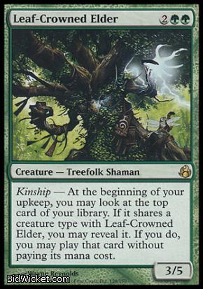 Leaf-Crowned Elder, Morningtide, Magic the Gathering