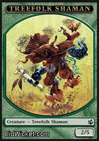 Treefolk Shaman (Token), Morningtide, Magic the Gathering