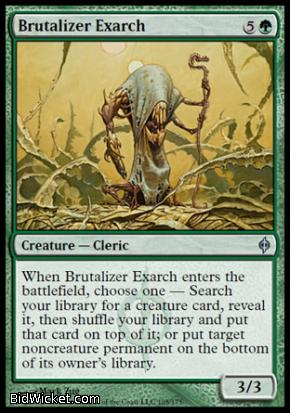 Brutalizer Exarch, New Phyrexia, Magic the Gathering