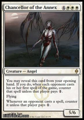 Chancellor of the Annex, New Phyrexia, Magic the Gathering