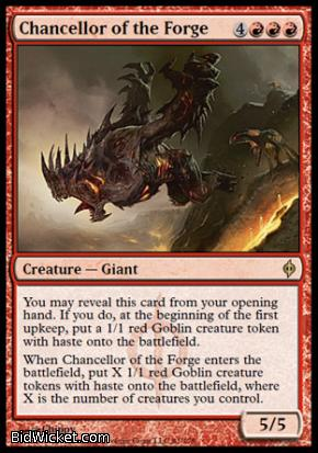 Chancellor of the Forge, New Phyrexia, Magic the Gathering