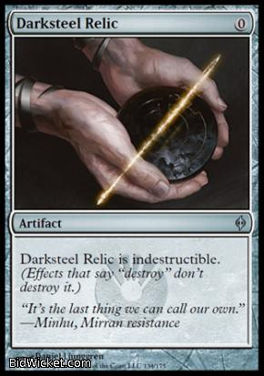 Darksteel Relic, New Phyrexia, Magic the Gathering