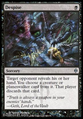 Despise, New Phyrexia, Magic the Gathering
