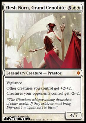 Elesh Norn, Grand Cenobite, New Phyrexia, Magic the Gathering