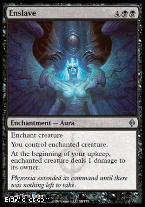 Enslave, New Phyrexia, Magic the Gathering