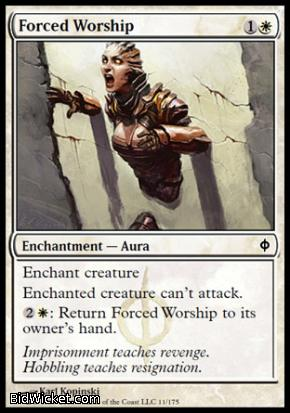 Forced Worship, New Phyrexia, Magic the Gathering