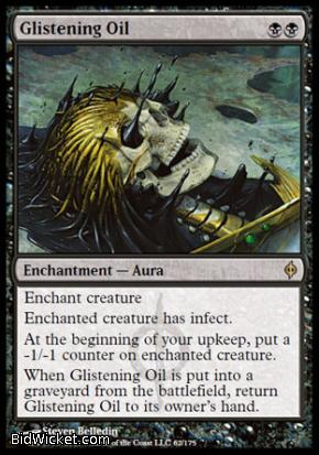 Glistening Oil, New Phyrexia, Magic the Gathering