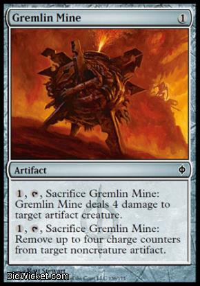 Gremlin Mine, New Phyrexia, Magic the Gathering