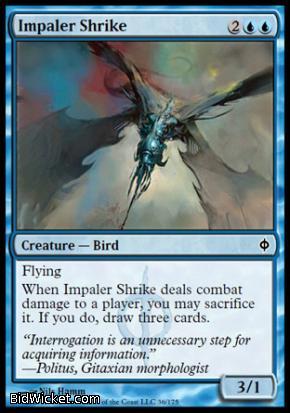 Impaler Shrike, New Phyrexia, Magic the Gathering