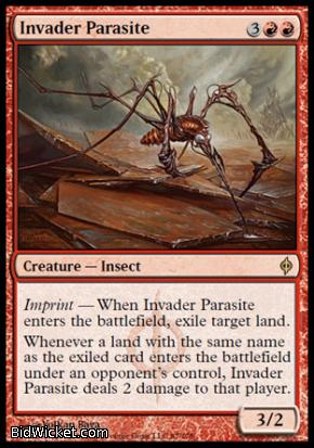 Invader Parasite, New Phyrexia, Magic the Gathering