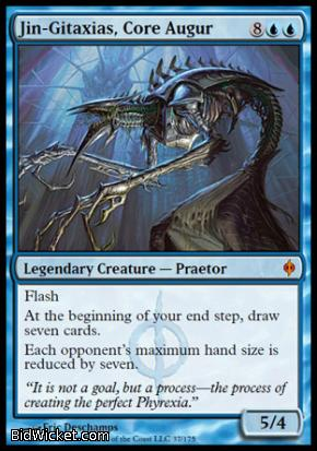Jin-Gitaxias, Core Augur, New Phyrexia, Magic the Gathering