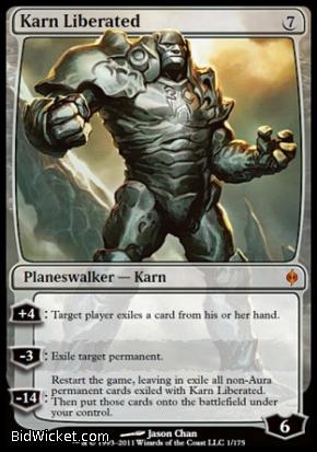 Karn Liberated, New Phyrexia, Magic the Gathering