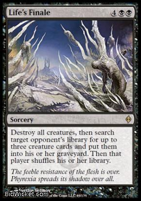 Life's Finale, New Phyrexia, Magic the Gathering