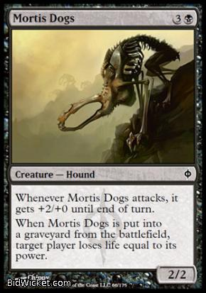 Mortis Dogs, New Phyrexia, Magic the Gathering