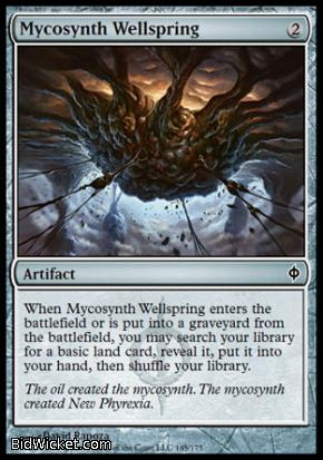 Mycosynth Wellspring, New Phyrexia, Magic the Gathering