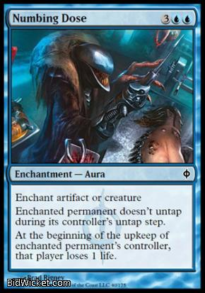 Numbing Dose, New Phyrexia, Magic the Gathering