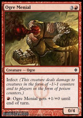 Ogre Menial, New Phyrexia, Magic the Gathering