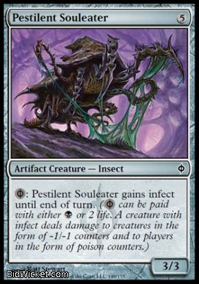 Pestilent Souleater, New Phyrexia, Magic the Gathering
