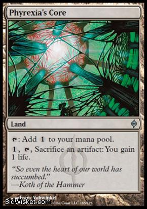 Phyrexia's Core, New Phyrexia, Magic the Gathering