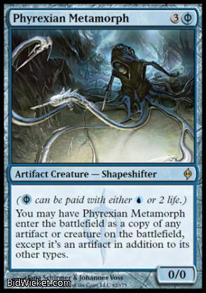 Phyrexian Metamorph, New Phyrexia, Magic the Gathering