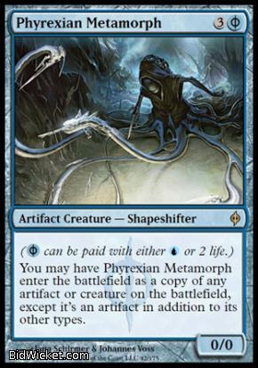 Phyrexian Metamorph, New Phyrexia, Magic the Gathering