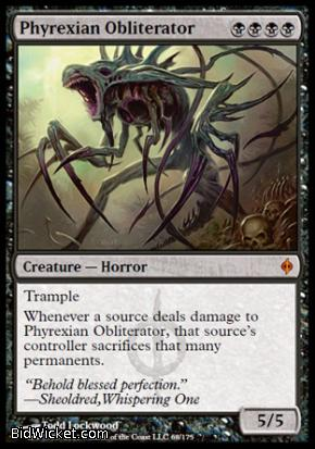 Phyrexian Obliterator, New Phyrexia, Magic the Gathering