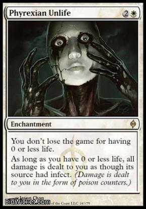 Phyrexian Unlife, New Phyrexia, Magic the Gathering