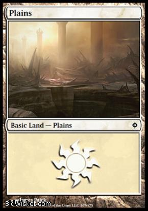 Plains (167), New Phyrexia, Magic the Gathering