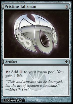 Pristine Talisman, New Phyrexia, Magic the Gathering