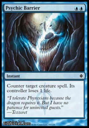 Psychic Barrier, New Phyrexia, Magic the Gathering
