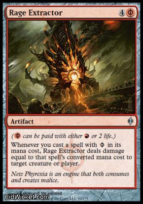 Rage Extractor, New Phyrexia, Magic the Gathering