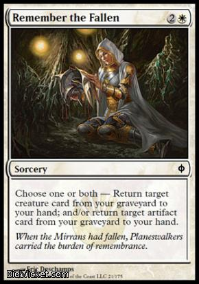 Remember the Fallen, New Phyrexia, Magic the Gathering