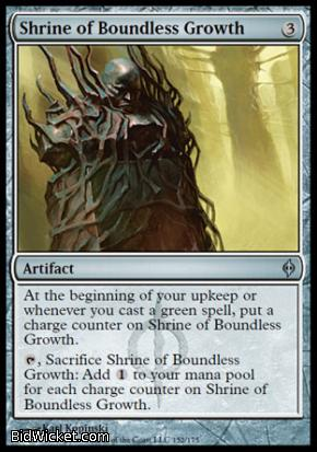 Shrine of Boundless Growth, New Phyrexia, Magic the Gathering